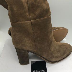 Brand New w/Box Dolce Vita Lucinda Suede Boots 8.5
